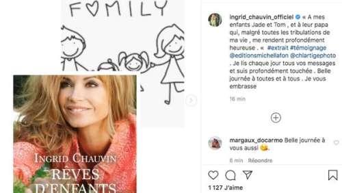 Ingrid Chauvin bouleversante : elle dédie son prochain livre à sa fille Jade
