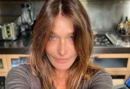 Carla Bruni au naturel : elle poste un message d'espoir à quelques jours du déconfinement