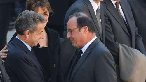 Nicolas Sarkozy et François Hollande complices : cette rare image des deux anciens présidents