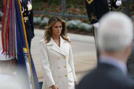 Melania Trump : élégante dans un manteau Gucci au prix exorbitant