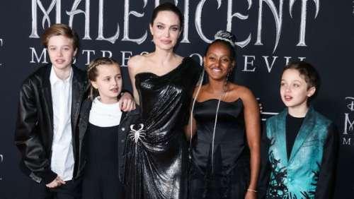 Angelina Jolie : comment elle cachait son désarroi à ses enfants après son divorce avec Brad Pitt
