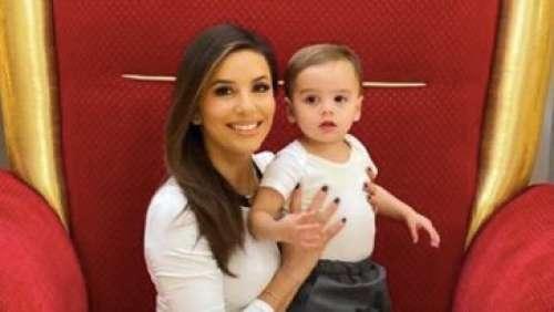 Eva Longoria partage une adorable vidéo de son fils Santi pour ses 2 ans