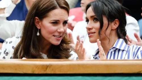 Wimbledon : quand Kate Middleton et Meghan Markle jouaient les complices dans les tribunes