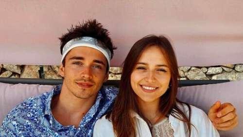 Charles Leclerc en couple : qui est Charlotte Siné, la nouvelle compagne du pilote ?