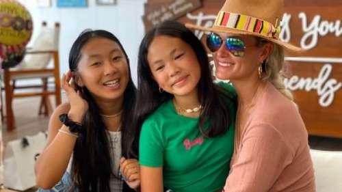 Laeticia Hallyday : Jade de retour à Saint-Barth pour fêter l'anniversaire de Joy