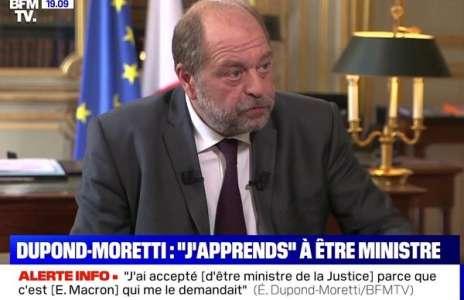 Eric Dupond-Moretti :