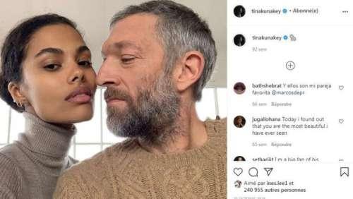 Vincent Cassel in love : il partage un tendre baiser avec sa femme Tina Kunakey