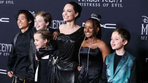 Angelina Jolie : ses confidences sur comment ses enfants ont vécu le confinement