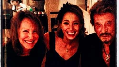 Nathalie Baye partage d'adorables clichés de Johnny Hallyday avec leur fille Laura Smet