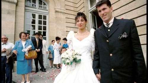 """MARIAGE DE STARS. Quand Véronique disait """"oui"""" à Zinédine Zidane"""