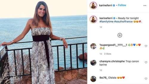 Karine Ferri poste un magnifique cliché d'elle en vacances au soleil
