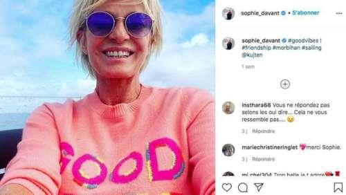 Sophie Davant : d'où vient sa cicatrice sur le bras ?