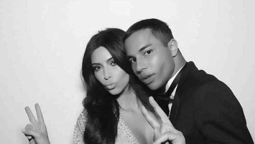 Kim Kardashian en Balmain : Olivier Rousteing rend un bel hommage à sa