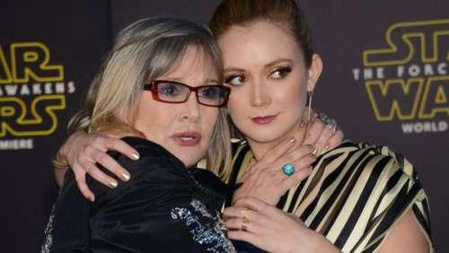 Carrie Fisher : l'hommage touchant de sa fille Billie Lourd, maman pour la première fois