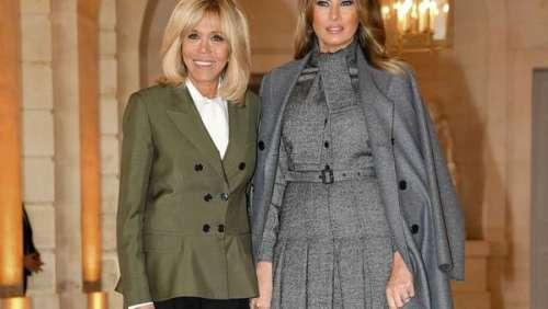 Melania Trump : ce coup d'éclat qui n'a pas vexé Brigitte Macron