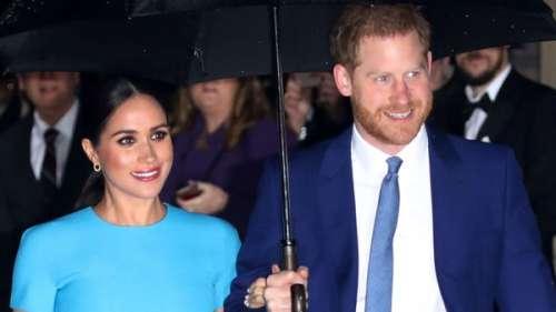 Meghan et Harry complices : un rare portrait du couple royal dévoilé