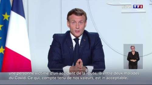 Reconfinement, écoles, télétravail… Ce qu'a annoncé Emmanuel Macron dans son discours