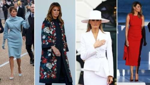 Melania Trump : retour sur le style de la First Lady pendant quatre ans