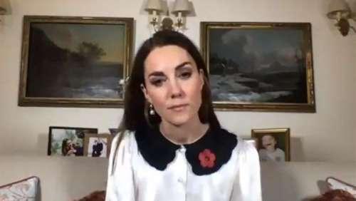 Émouvant ! Kate Middleton console un enfant qui a perdu son père soldat en Afghanistan