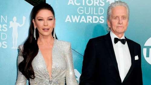 Michael Douglas et Catherine Zeta Jones amoureux : ils fêtent leurs 20 ans de mariage