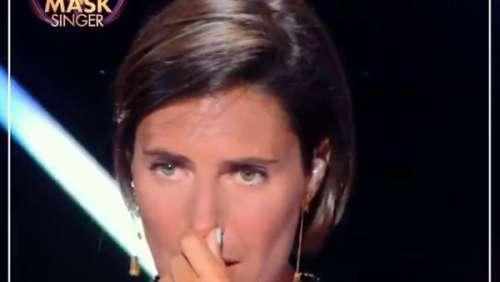 Mask Singer : Alessandra Sublet émue aux larmes après la prestation du Manchot