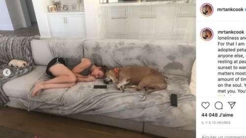 Kaley Cuoco bouleversée : son mari annonce la mort de leur chien