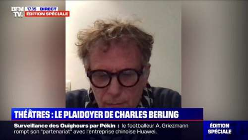 Charles Berling en colère : il pousse un coup de gueule en direct sur BFMTV