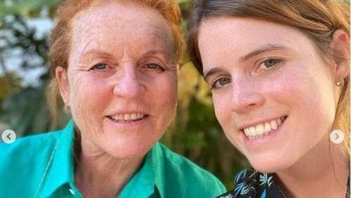 Princesse Eugenie émue aux larmes dans une vidéo avec sa mère Sarah Ferguson