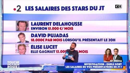 TPMP:CyrilHanounarévèle les salaires des présentateurs desJTde TF1 et France2