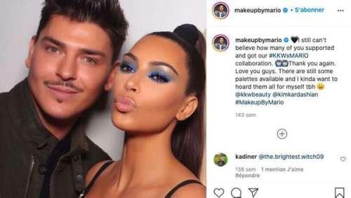 Kim Kardashian : qui est Mario Dedivanovic, le maquilleur préféré de la star ?