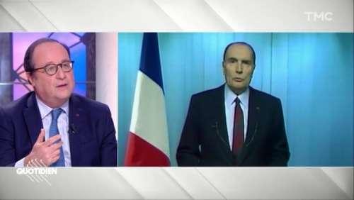 Les confidences de François Hollande sur François Mitterrand :