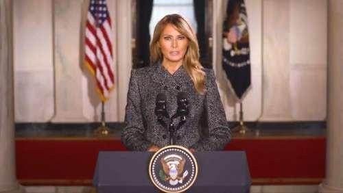 Melania Trump : ses mots forts pour ses adieux à la Maison-Blanche