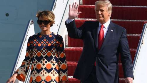 Fini la Maison-Blanche : Melania Trump change totalement de style en sortant de l'Air Force One