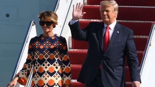 Fini la Maison-Blanche : Melania Trump change totalement de style en sortant de l'Air Force One
