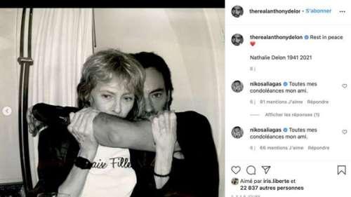 Anthony Delon : que va-t-il faire des cendres de sa mère, Nathalie ?