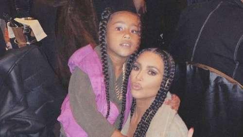Kim Kardashian : la peinture de sa fille, North, 7 ans, fait polémique