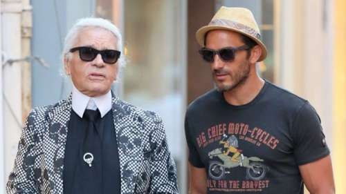 Le garde du corps de Karl Lagerfeld raconte son parcours aux côtés du créateur