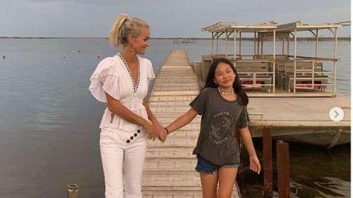 Laeticia Hallyday : cette habitude trop de mignonne de sa fille Joy