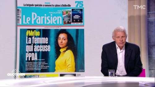 Patrick Poivre d'Arvor accusé de viol : il raconte comment il a appris la plainte de Florence Porcel