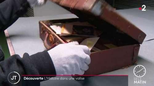 Une valise pleine de secrets datant de la Seconde Guerre mondiale retrouvée en pleine rue