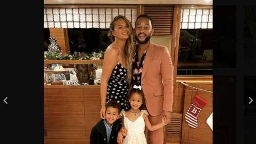 Chrissy Teigen : elle pose avec ses enfants Luna et Miles et se confie comme jamais sur sa famille