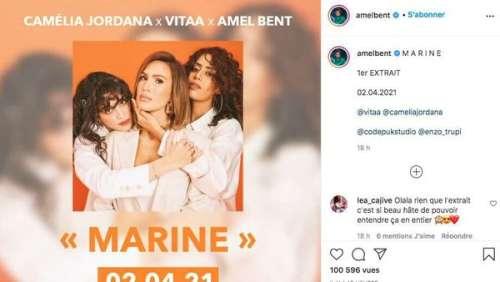 Amel Bent : elle lève une partie du voile sur son projet mystérieux avec Vitaa et Camélia Jordana
