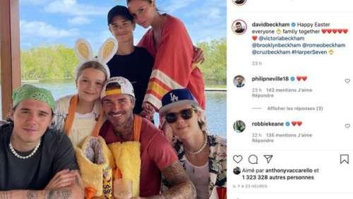 David et Victoria Beckham : le couple s'offre une belle photo de famille pour Pâques
