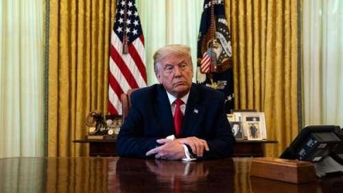 Donald Trump : ce détail sur une photo qu'il voulait cacher