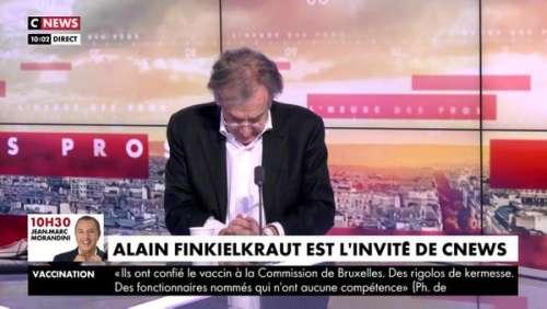 Pascal Praud décontenancé : Alain Finkielkraut complètement perdu en plein direct