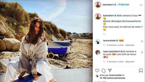 Karine Ferri : shoppez son dernier look tendance !
