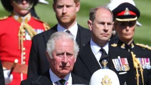 Prince Harry :ce moment passé avec son père, le prince Charles, après les obsèques du prince Philip