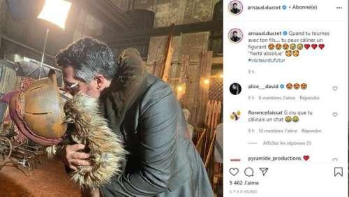 Arnaud Ducret, papa et acteur : il partage l'affiche avec son fils