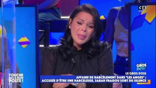 SarahFraisou(LesAnges)en larmes :elle craque en évoquant ses envies desuicide