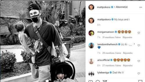 Matt Pokora : il partage LA première photo avec ses deux fils Isahia et Kenna !